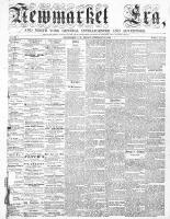Newmarket Era (Newmarket, ON), February 13, 1863