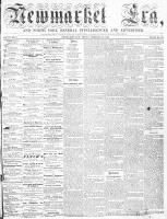 Newmarket Era (Newmarket, ON), February 20, 1863