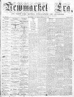 Newmarket Era (Newmarket, ON), February 27, 1863