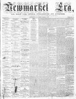 Newmarket Era (Newmarket, ON), March 13, 1863