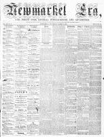 Newmarket Era (Newmarket, ON), March 20, 1863