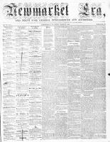 Newmarket Era (Newmarket, ON), March 27, 1863