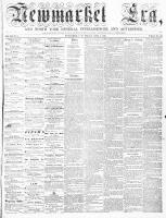 Newmarket Era (Newmarket, ON), April 3, 1863