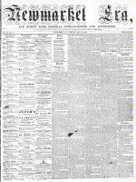 Newmarket Era (Newmarket, ON1861), May 22, 1863