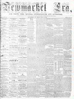 Newmarket Era (Newmarket, ON), June 12, 1863