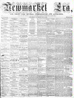 Newmarket Era (Newmarket, ON), July 3, 1863