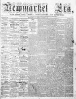 Newmarket Era (Newmarket, ON), January 1, 1864