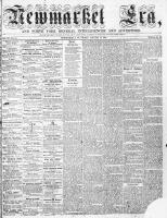 Newmarket Era (Newmarket, ON), January 15, 1864