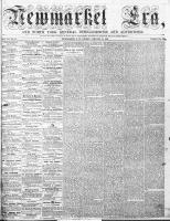 Newmarket Era (Newmarket, ON1861), January 22, 1864