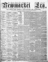 Newmarket Era (Newmarket, ON), January 29, 1864