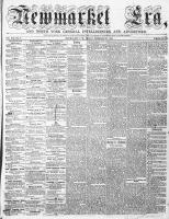 Newmarket Era (Newmarket, ON), February 26, 1864