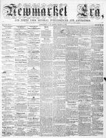 Newmarket Era (Newmarket, ON), March 18, 1864