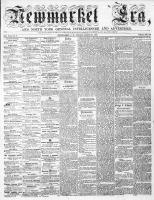 Newmarket Era (Newmarket, ON), March 25, 1864