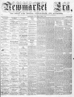 Newmarket Era (Newmarket, ON), April 8, 1864