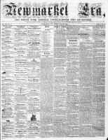 Newmarket Era (Newmarket, ON), May 27, 1864