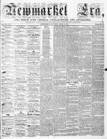 Newmarket Era (Newmarket, ON1861), August 19, 1864
