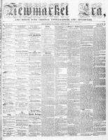 Newmarket Era (Newmarket, ON1861), August 26, 1864