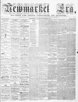 Newmarket Era (Newmarket, ON1861), September 9, 1864