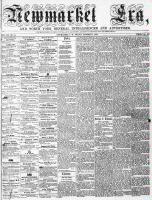 Newmarket Era (Newmarket, ON1861), October 21, 1864