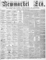 Newmarket Era (Newmarket, ON1861), December 9, 1864