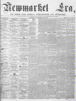 Newmarket Era (Newmarket, ON), May 26, 1865