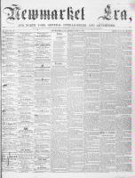 Newmarket Era (Newmarket, ON), June 2, 1865