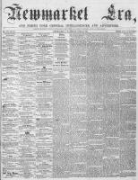 Newmarket Era (Newmarket, ON), June 30, 1865