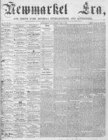 Newmarket Era (Newmarket, ON), July 7, 1865