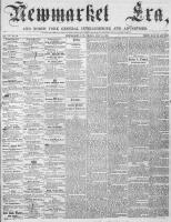 Newmarket Era (Newmarket, ON), July 14, 1865