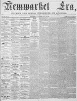 Newmarket Era (Newmarket, ON), July 21, 1865