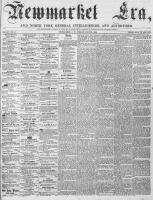 Newmarket Era (Newmarket, ON), July 28, 1865