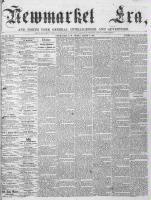 Newmarket Era (Newmarket, ON), August 4, 1865