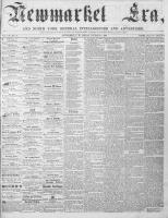 Newmarket Era (Newmarket, ON1861), January 5, 1866