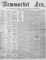 Newmarket Era (Newmarket, ON1861), January 12, 1866