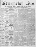 Newmarket Era (Newmarket, ON1861), September 7, 1866