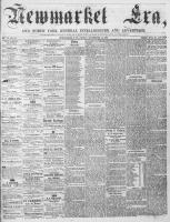 Newmarket Era (Newmarket, ON1861), September 14, 1866