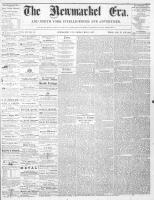 Newmarket Era (Newmarket, ON), May 3, 1867