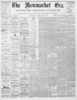 Newmarket Era (Newmarket, ON1861), May 31, 1867