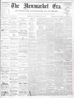 Newmarket Era (Newmarket, ON1861), July 12, 1867