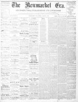 Newmarket Era (Newmarket, ON1861), August 9, 1867