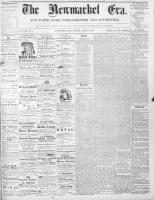 Newmarket Era (Newmarket, ON1861), March 6, 1868