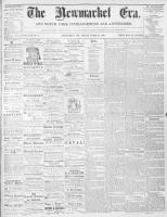 Newmarket Era (Newmarket, ON1861), March 20, 1868