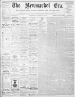 Newmarket Era (Newmarket, ON1861), May 15, 1868