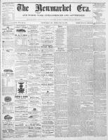Newmarket Era (Newmarket, ON1861), May 29, 1868