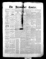 Newmarket Courier (Newmarket, ON), May 14, 1868