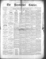 Newmarket Courier (Newmarket, ON), December 1, 1868