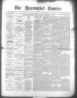 Newmarket Courier (Newmarket, ON), December 31, 1868