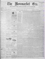 Newmarket Era (Newmarket, ON1861), July 30, 1869
