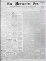 Newmarket Era (Newmarket, ON1861), August 13, 1869