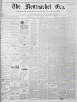 Newmarket Era (Newmarket, ON1861), September 3, 1869